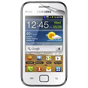 6-Pack EZGuardZ© Samsung GALAXY ACE DUOS S6802 Screen Protectors (Ultra CLEAR)