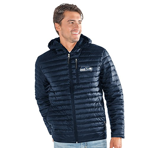 G-III Sports by Carl Banks Adult Men Equator Quilted Jacket, Navy, Medium