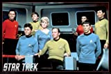 Star Trek Enterprise Crew 36x24 Art Print Poster Wall Decor Classic TV Show Science Fiction Original Cast James