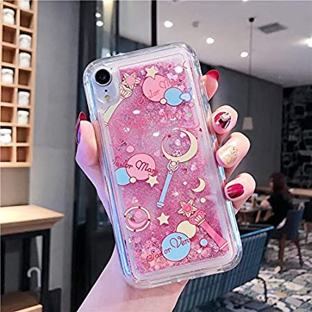 SHRHSJSJK para iPhone 8 7 6 6s Plus Funda Cartoon Sailor Moon Girl ...