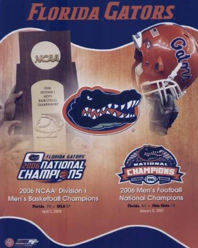 University of Florida Gators 2006 Dual NCAA Champions 8