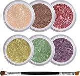 Green Eyes Intensify Mineral Eyeshadow Kit - 100% Pure All Natural Mineral Makeup - Not Bare Minerals, Bare Escentuals, Mineral Fusion, MAC