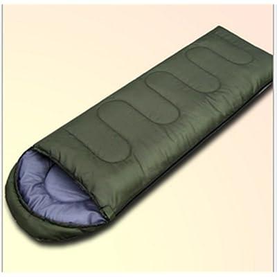 SHUIDAI Sacs de couchage/épais/tiède enveloppe , green