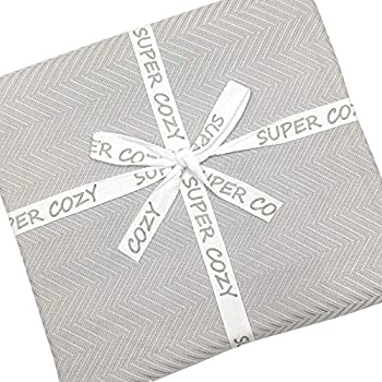 GOHD Golden Ocean Home Decor Super Cozy 100 Percent Bamboo Fiber Blanket. Ultra Softness and smothness Like Silk. Drop Well with Heavy Weight for Anyone You Love (King, Silver Grey)