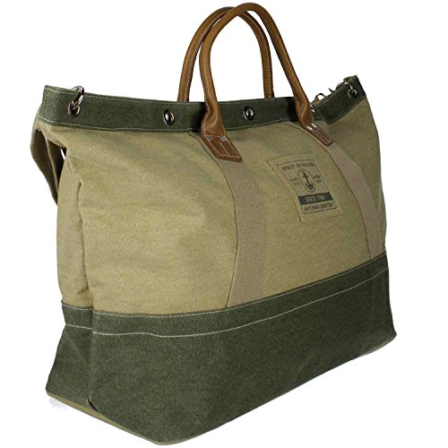 Antonio Strandtasche XL, Beach Bag, Casual Spirit Saint-Tropez beige+olive