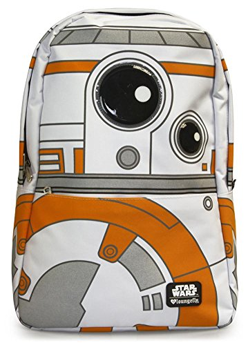 Loungefly Episode VII BB8 Backpack, White, 12