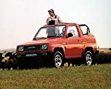 1989 Daihatsu Feroza 4x4 SUV Factory Photo