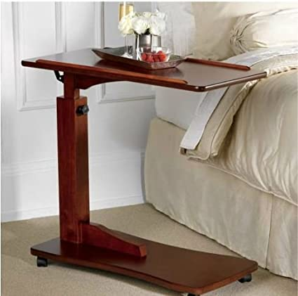 Amazon easy to use adjustable bedside table kitchen dining easy to use adjustable bedside table watchthetrailerfo