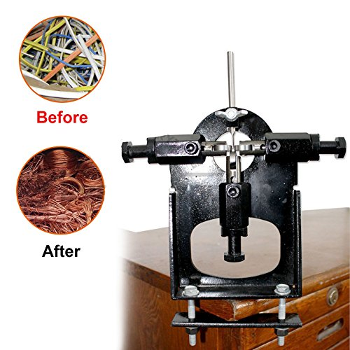 CNlinkco Copper Wire Stripping Machine Cable Wire Stripper Copper Recycle Tool Manual