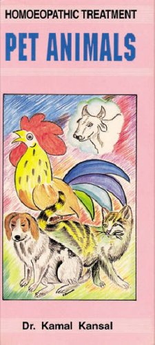 Download Homoeopathic Treatment of Pet Animals ebook
