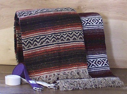 - Authentic Mexican Falsa Blanket Made in Mexico