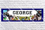 Personalized Toronto Jays Banner - Includes Color Border Mat, With Your Name On It, Party Door Poster, Room Art Decoration - Customize