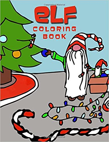 Christmas Elf coloring page | Free Printable Coloring Pages | 499x383