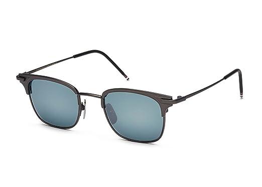 0e2319e74d7 Amazon.com  Thom Browne TB-102-B-T-BLK-49 Sunglasses  Clothing