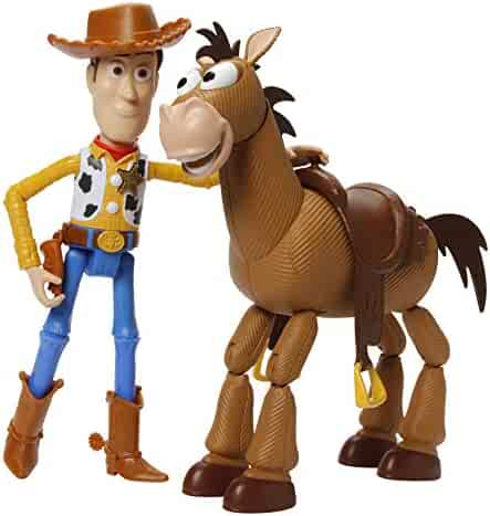 Toy Story Disney Pixar 4 Woody & Bullseye Adventure Pack