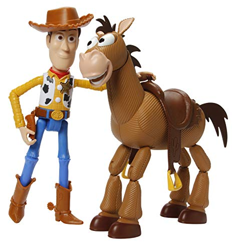 Toy Story Disney Pixar 4 Woody & Bullseye Adventure Pack (Hat Story Disney Toy)