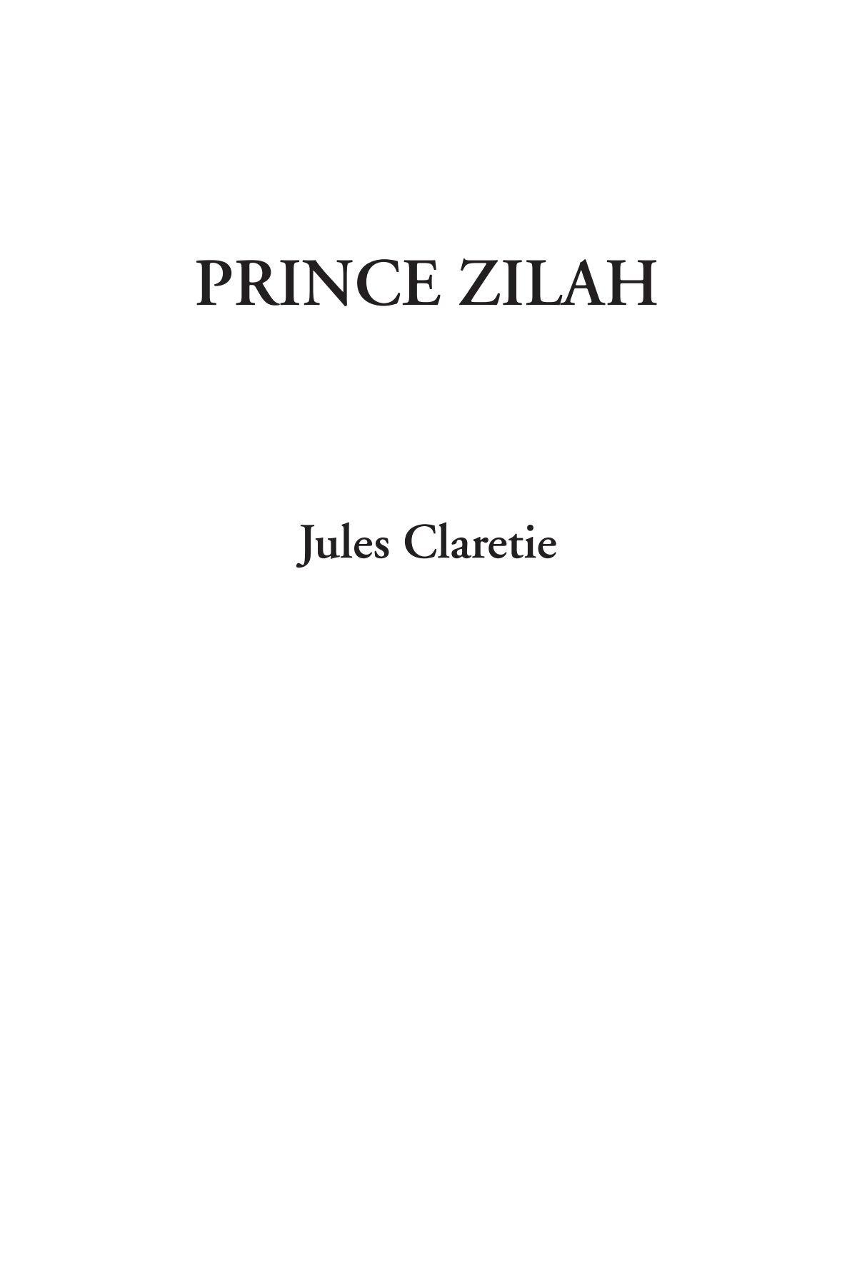Download Prince Zilah ebook