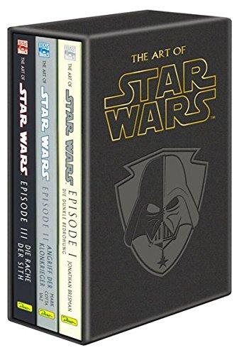 Star Wars Episode 1 bis 3 Artbooks: The Art of Star Wars