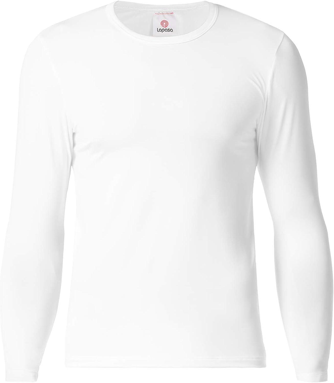 Garçons Pack De 2 Thermique Blanc à Manches Longues Gilet Tops Sous-vêtements 2 To 16 ans