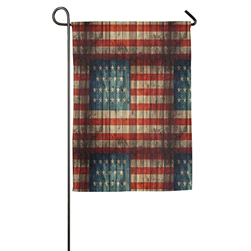 Ojinwangji Fourth Of July Independence Day Painted Old Woode