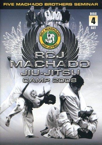RCJ Machado Jiu-Jitsu Camp 2008 Rigan Machado Dvd