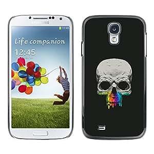 EJOY---Cubierta de la caja de protección la piel dura para el / Samsung Galaxy S4 / --Cráneo Diente Crayon