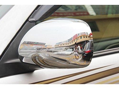 ABS Accessories Car Reaview Mirror Cover Trim 2PCS for Toyota Land Cruiser Prado J120 for Lexus GX470 2003-2009