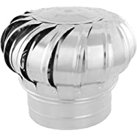 PrimeMatik - Sombrero Extractor de Humos galvanizado Giratorio