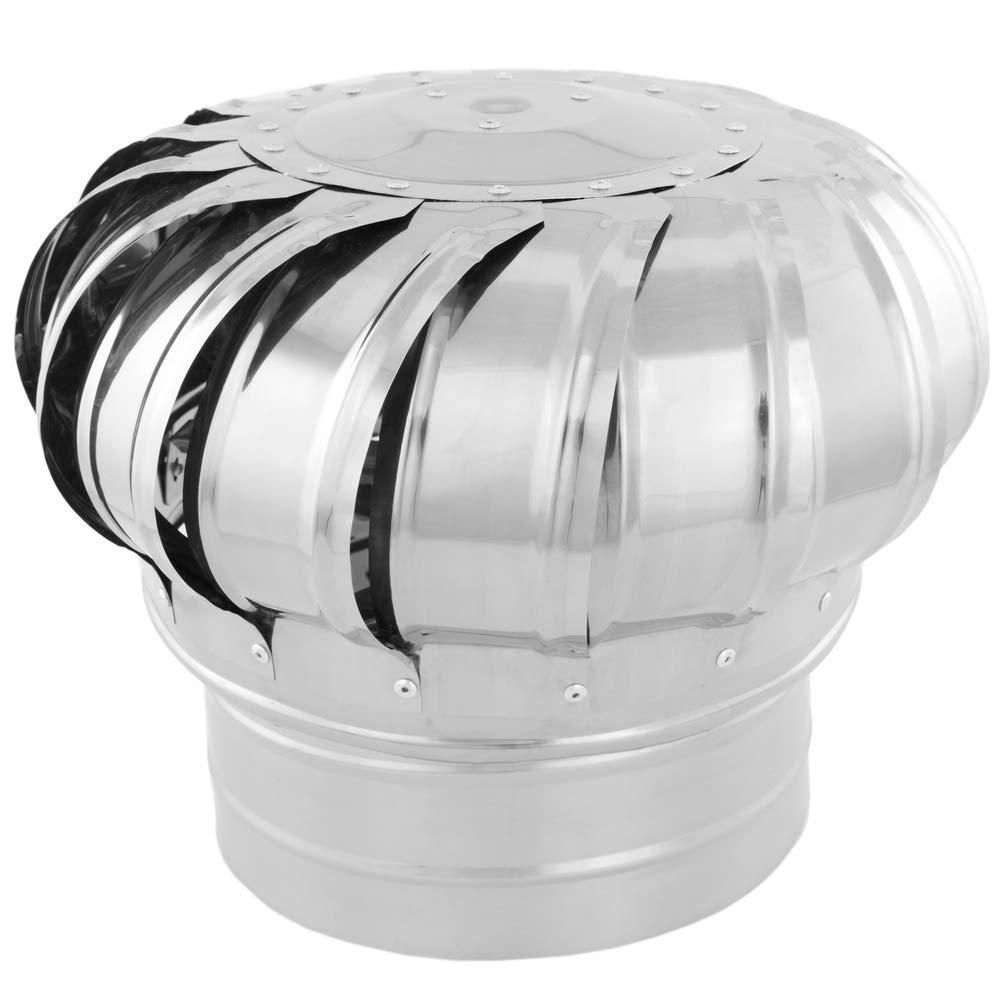 Sombrero Extractor de Humos galvanizado Giratorio para Tubo de 200 mm de di/ámetro PrimeMatik