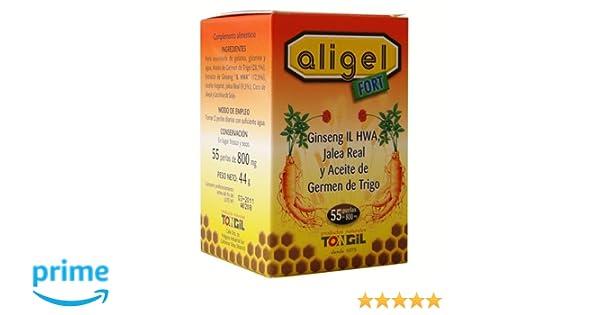 TONG-IL Aligel FORT Complemento alimenticio, 55perlas: Amazon.es: Salud y cuidado personal