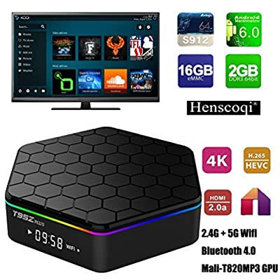 Henscoqi T95Z Android TV Box by CL