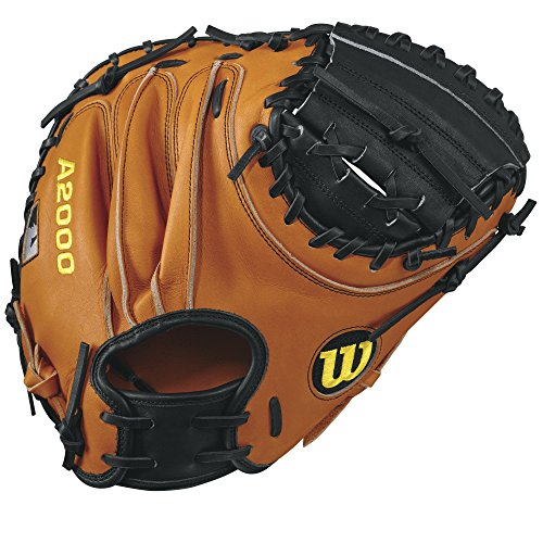 Wilson A2000 Pudge 32.5' Catcher's Mitt - Right Hand Throw