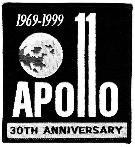 Apollo 11 Mission Patch 30th Anniversary Black ()