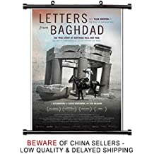 Letters from Baghdad Movie Wall Scroll Poster (32x47) Inches
