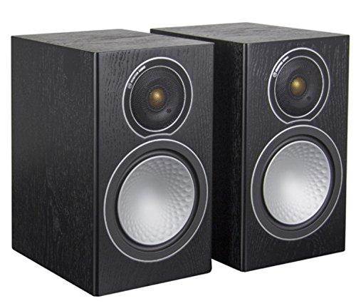 Monitor Audio - Silver Series 2 - 2-way Compact Loudspeakers - Pair - Black Oak