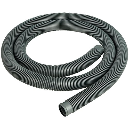 Heavy-Duty Silver Pool Filter Connect Hose - 9' x 1.5