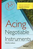 acing business - Acing Negotiable Instruments (Acing Series)