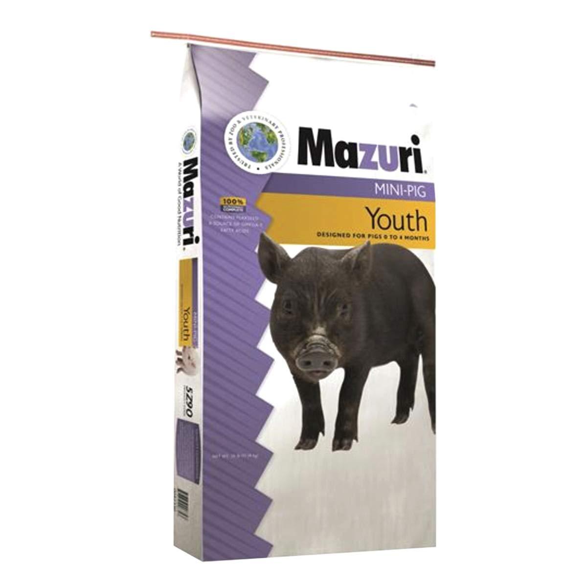 Purina Mills Mazuri Mini Pig Youth 25 lb.