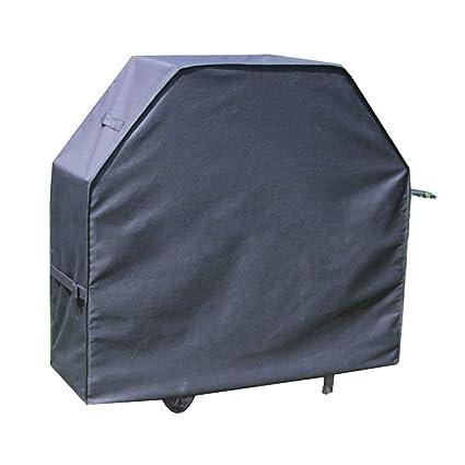 HWJJFCZ Negro Guardapolvo Cubierta Protectora Cubierta de Muebles Cubierta de la Barbacoa, Impermeable Protector Solar
