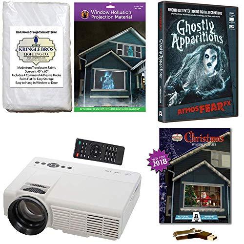 AtmosFearFx Christmas and Halloween Digital Decoration Kit Includes