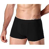 Hoerev Män bambufiber boxershorts kalsonger underkläder paket med 5, XS-XXL