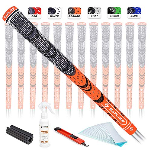 SAPLIZE Golf Grips 13 Piece with Complete Regripping Kit