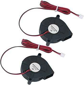 GTIWUNG 2Pcs Ventilador Turbina 12V, Ventilador de Enfriamiento DC ...