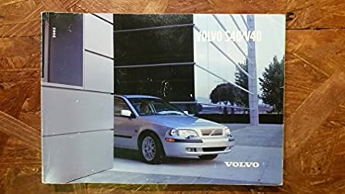 2002 volvo s40 v40 owner s manual amazon com books rh amazon com 2002 volvo s40 service manual 2002 volvo s40 owners manual