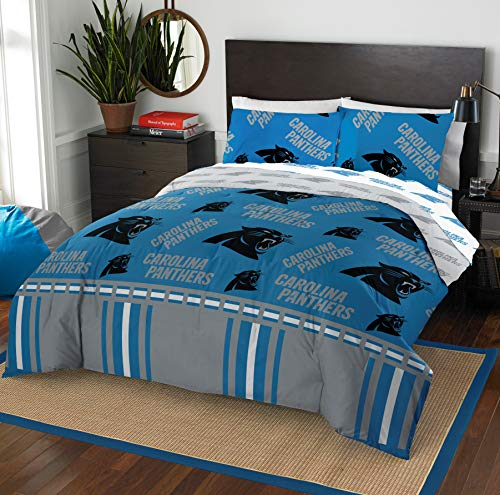 The Northwest Company NFL Carolina Panthers Full Bed in a Bag Complete Bedding Set #836050112