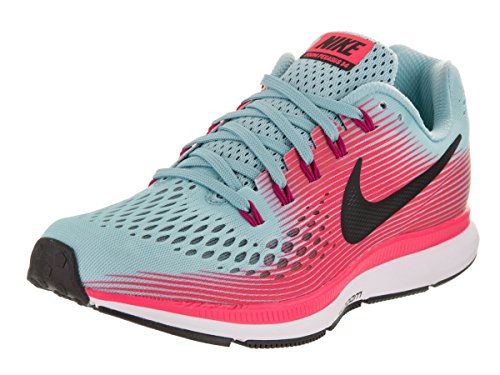 size 40 d834c 121ee NIKE Women's WMNS Air Zoom Pegasus 34, MICA Blue/White-Racer Pink-Sport, 5  M US