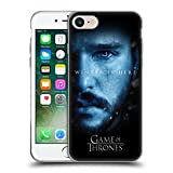 Official HBO Game Of Thrones Jon Snow Winter Is Here Soft Gel Case for Apple iPhone 7 / iPhone 8