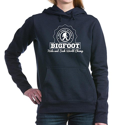 CafePress - Bigfoot Hide And Seek World Champ Women's Hooded S - Pullover Hoodie, Classic & Comfortable Hooded - Champ Sweatshirt Thermal