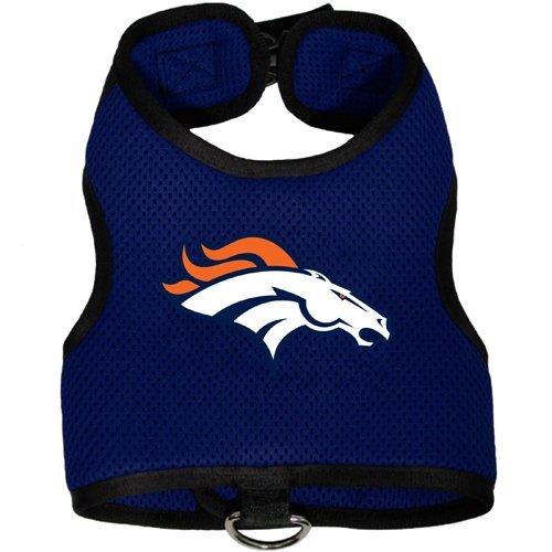 Denver Broncos Pet Dog Premium Mesh Vest Harness (Bronco Vest)