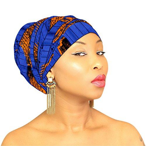 BLACK HEAD WRAP | Black Hijab Head Wraps Head Scarf African HeadWrap Light Weight Hair loss Turban Jersey Hijab Hair Accessories | ROYAL HEAD WRAPS (Green & White (Jersey Print Wrap)